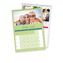 2 x A3 Portret Gepersonaliseerde Kalender incl Levering