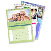 3 x A3 Portret Gepersonaliseerde Kalender incl Levering