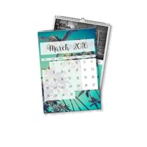 2 x A4 Portret Gepersonaliseerde Kalender incl Levering