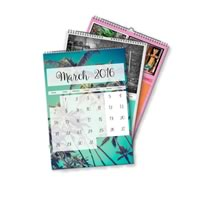 3 x A4 Portret Gepersonaliseerde Kalender incl Levering