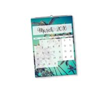 1 x A4 Portret Gepersonaliseerde Kalender incl Levering