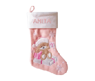 Baby Girl Christmas Stocking